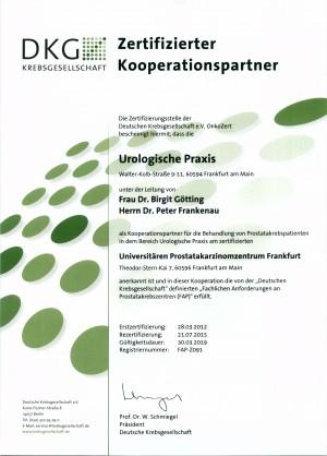 DKG Zertifikat 2016